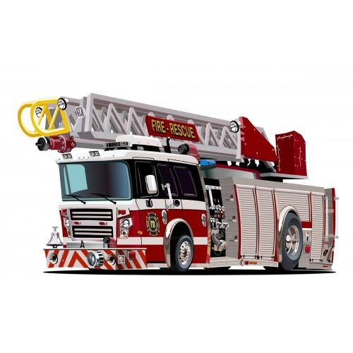Стикери за детска стая Пожарна  Модел 20651