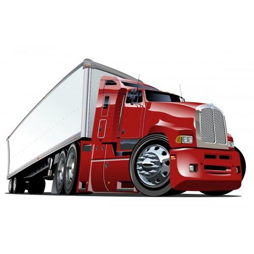 Стикери за детска стая камион  Модел 20652