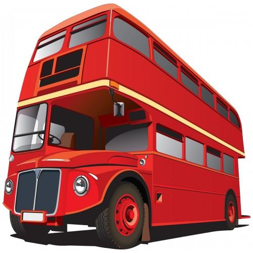 Стикери за детска стая Автобус  Модел 20653