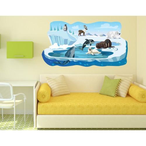 Стикери за детска стая  Модел 20665 Арктика
