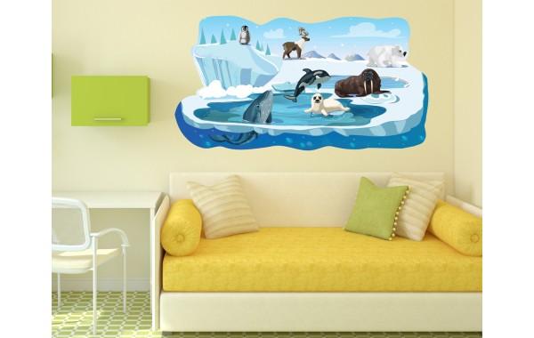 Стикери за стена на детска стая  Модел 20665 Арктика