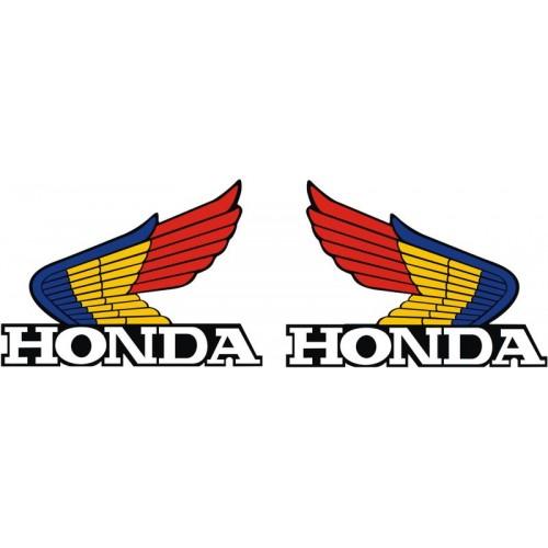 Стикер  HONDA лого пълноцветно комплект модел 20603
