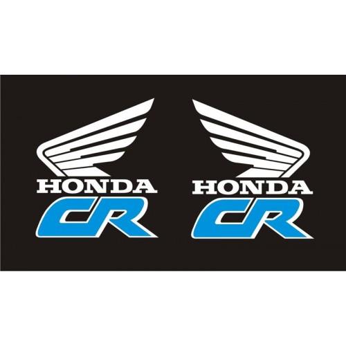 20622 Стикер  HONDA CR Old