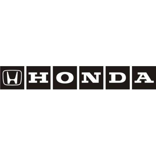 20645 Стикер HONDA logo3