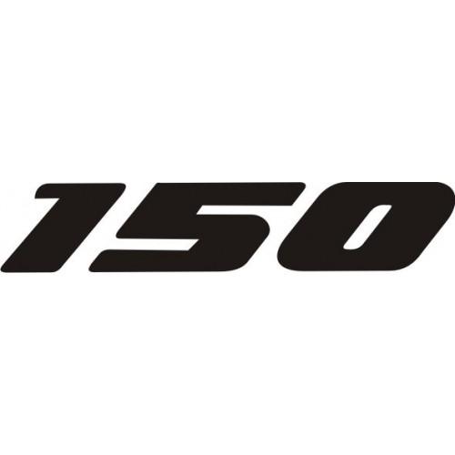 Стикер HONDA 150 модел 20680
