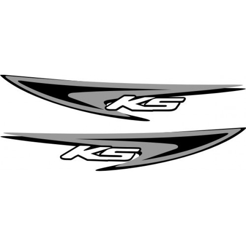 20693 Стикер HONDA Titan KS