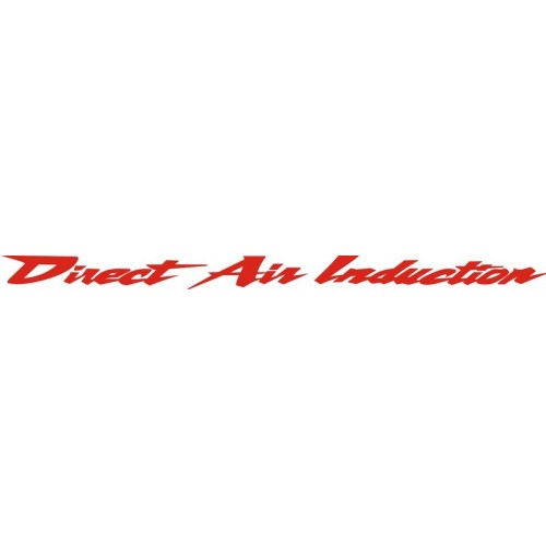 20705 Стикер HONDA Direct Air Induction