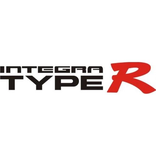 20715 Стикер HONDA integra type R