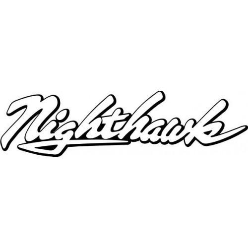 20727 Стикер HONDA nigthawk