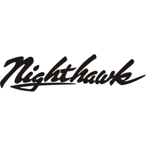 20728 Стикер HONDA nigthawk black