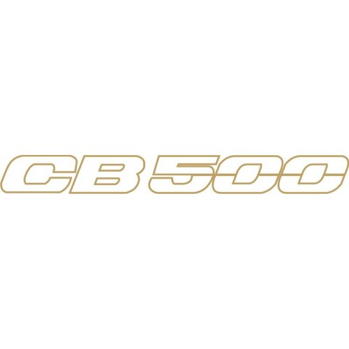 20768 Стикер HONDA  CB 500 1996-1997