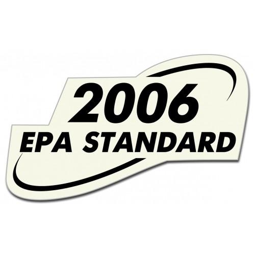Стикер HONDA  Epa Standard 2006 модел 20780