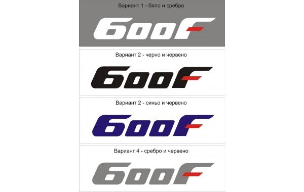 Стикер HONDA CBR 600 F2 модел 22052
