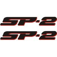 Стикер sp-2 HONDA VTR 1000 модел 22272