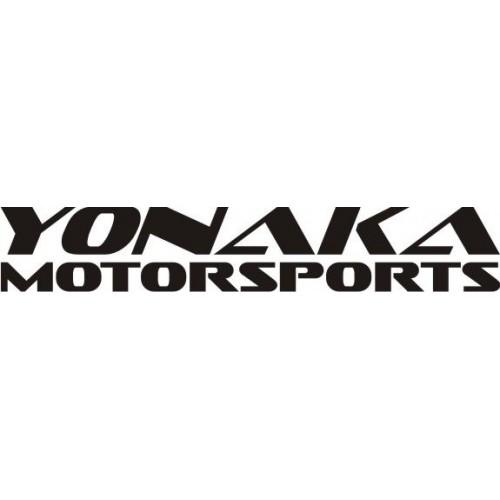20701 Стикер HONDA Yonaka Motorsports