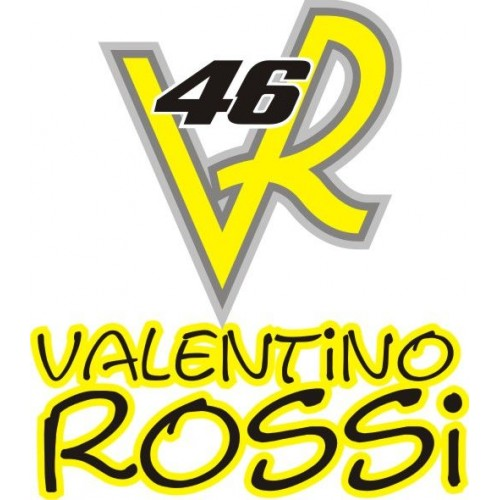 20751 Стикер HONDA Valentino rosi 46