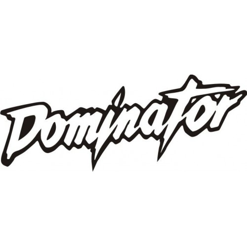 20628 Стикер HONDA Dominator