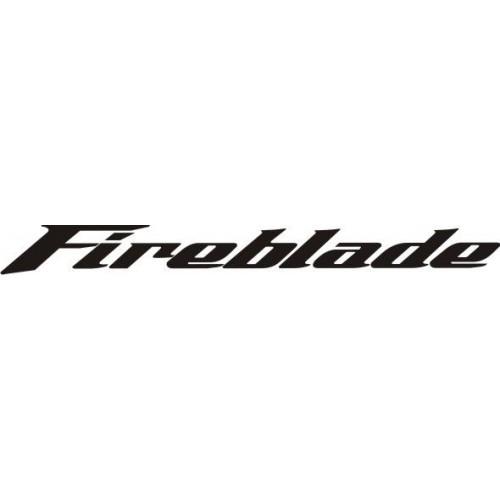 20665 Стикер HONDA fireblade