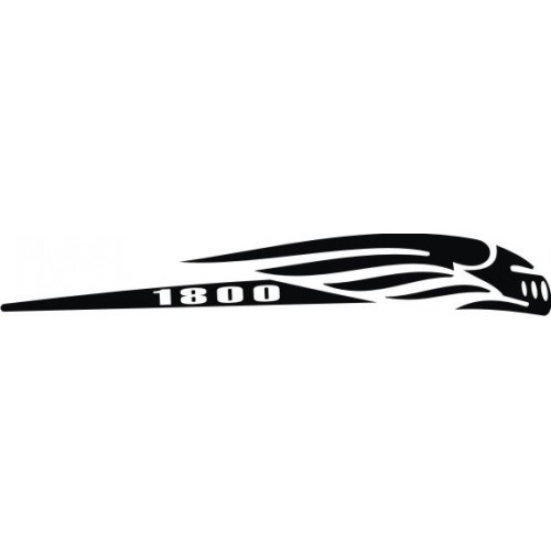 20717 Стикер HONDA vtx1800n