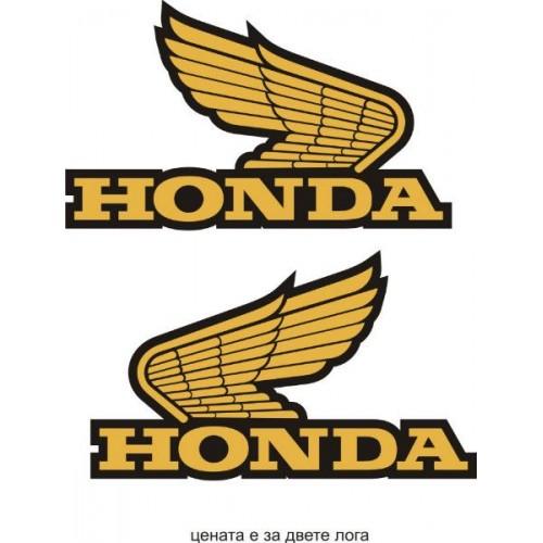 Стикер HONDA лого в два цвята модел 20602