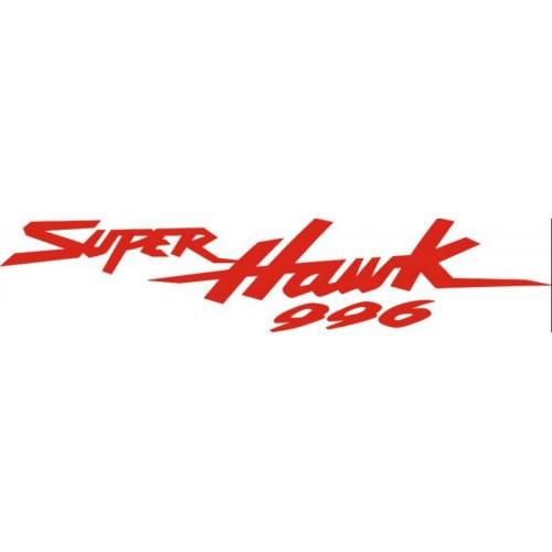 20739 Стикер HONDA super hawk