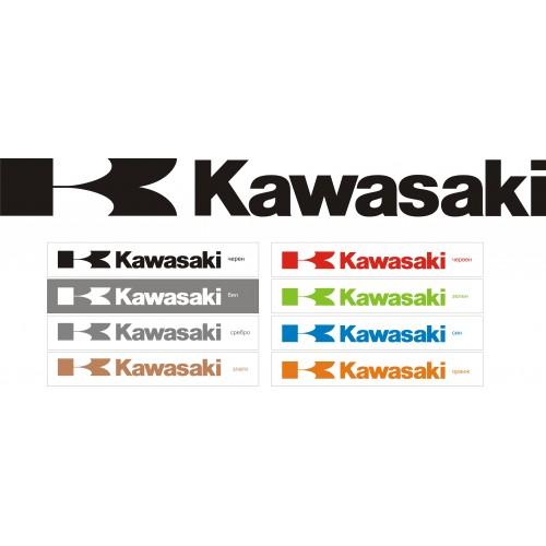 Стикер KAWASAKI  модел 21600