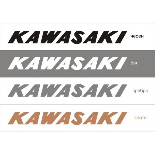 Стикер KAWASAKI  модел 21609