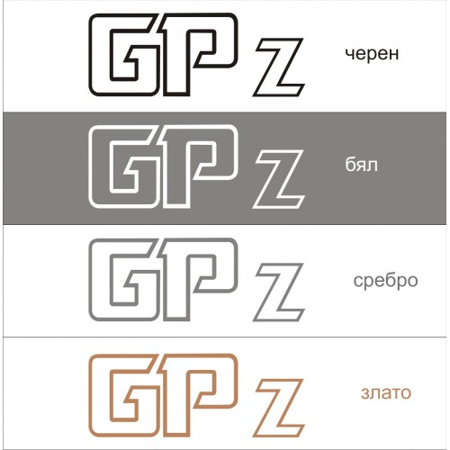 Стикер KAWASAKI GPz модел 21620