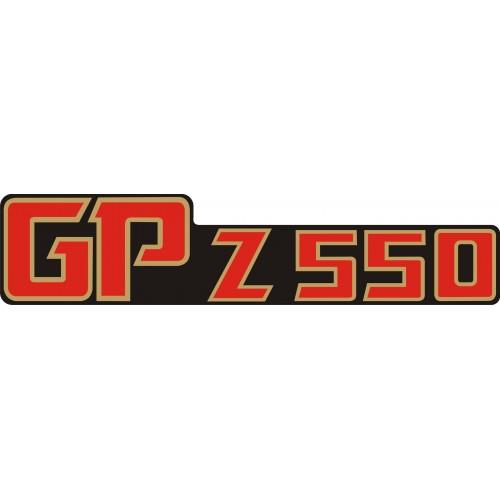 Стикер KAWASAKI GPz 550 1982 модел 21621
