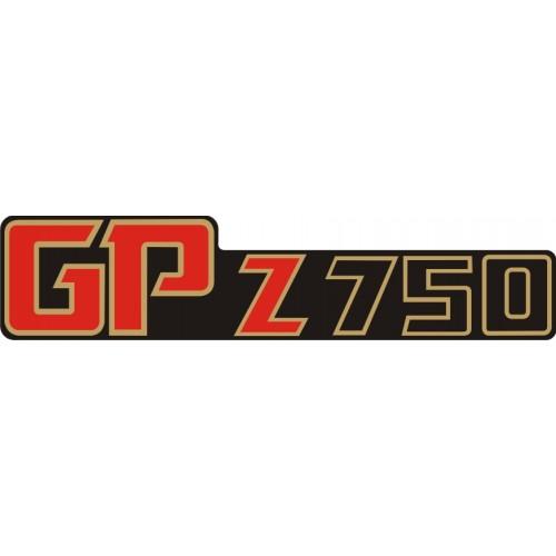 Стикер KAWASAKI GPz 750 1982 модел 21623