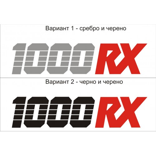 Стикер KAWASAKI  GPz  1000 RX модел 21629