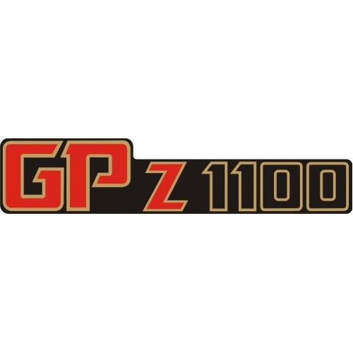 Стикер KAWASAKI GPz 1100 1982 модел 21632