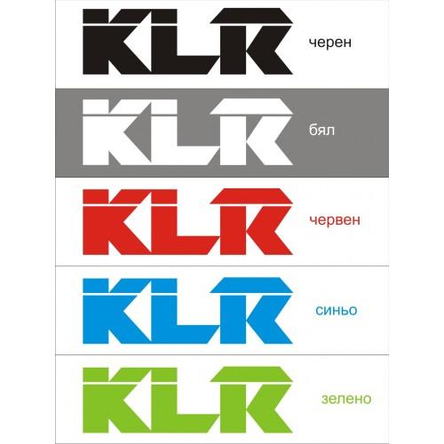 Стикер KAWASAKI KLR  модел 21647
