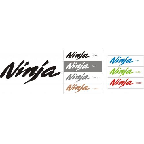 Стикер KAWASAKI Ninja 2003 модел 21677