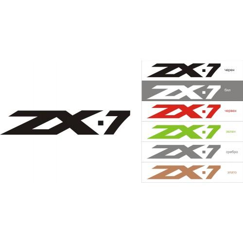 Стикер KAWASAKI ZX-7  модел 21684