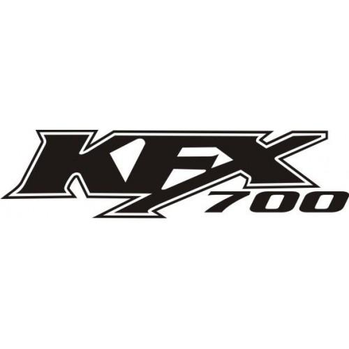 Стикер Kawasaki kfx 700 модел 21607