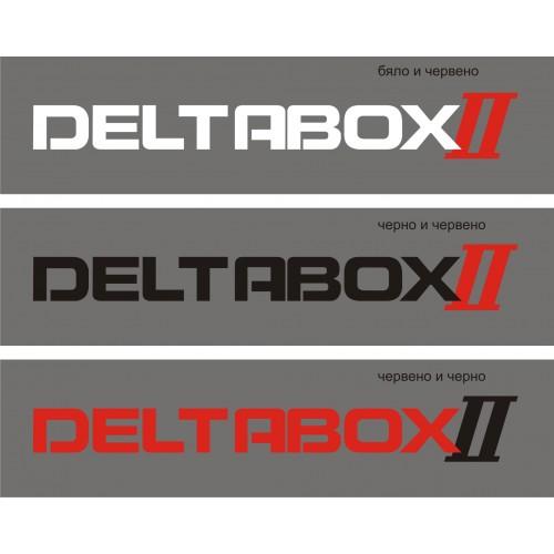 Стикер YAMAHA deltabox II модел 21344 два цвята