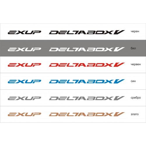 Стикер YAMAHA exup deltabox V - YZF R1  модел 21371