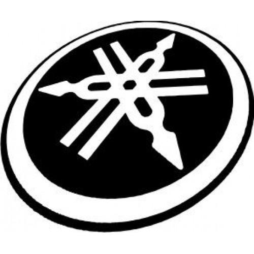 Стикер YAMAHA емблема 21304