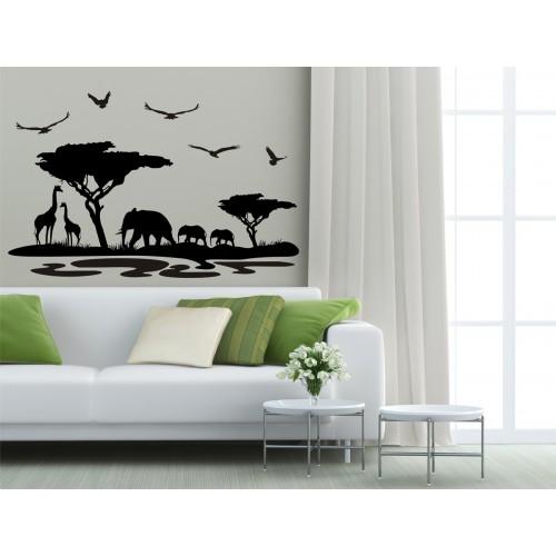 Стикер  за стена модел 31006 Африка