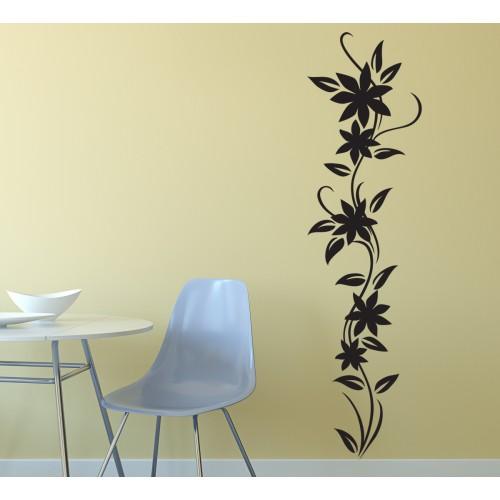 Стикер  за стена модел 31010 цвете