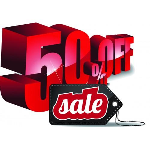 Стикер SALE 50% off  Модел 25068