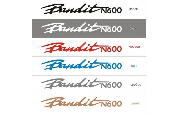 Стикер SUZUKI Bandit N 600 модел 21009
