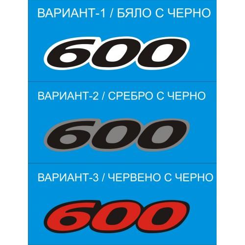 Стикер SUZUKI GSXF Katana 600  модел 21067