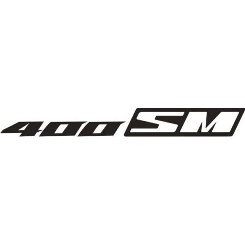 21082 Стикер Suzuki 400SM logo
