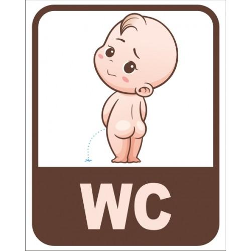 Табела или стикер WC модел 24160