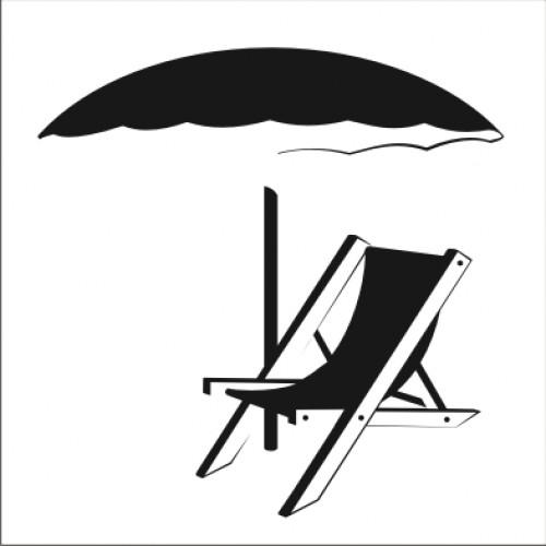 Табела или стикер пиктограма Стол чадър модел 24206