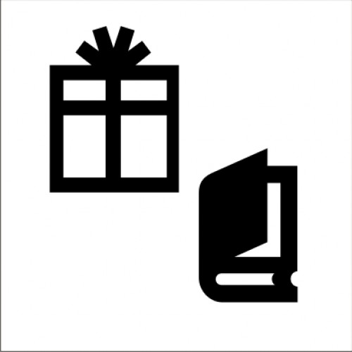 Табела или стикер пиктограма Магазин за Сувенири и Подаръци модел 24210