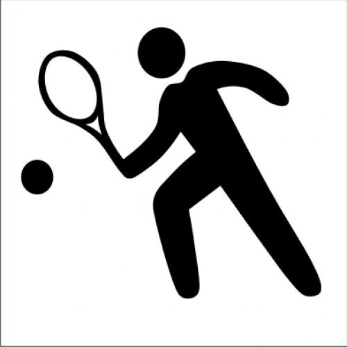 Табела или стикер пиктограма Тенис Корт модел 24211