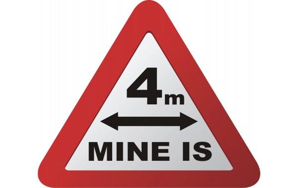 Стикер MINE IS 4m модел 24415